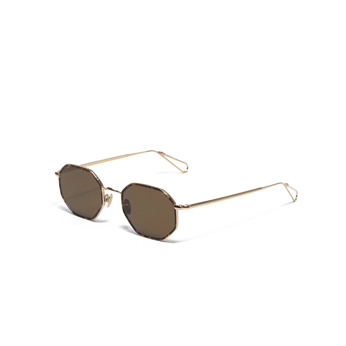 Ahlem® Irregular Sunglasses: Luxembourg color Champagne Turtle Windsor.
