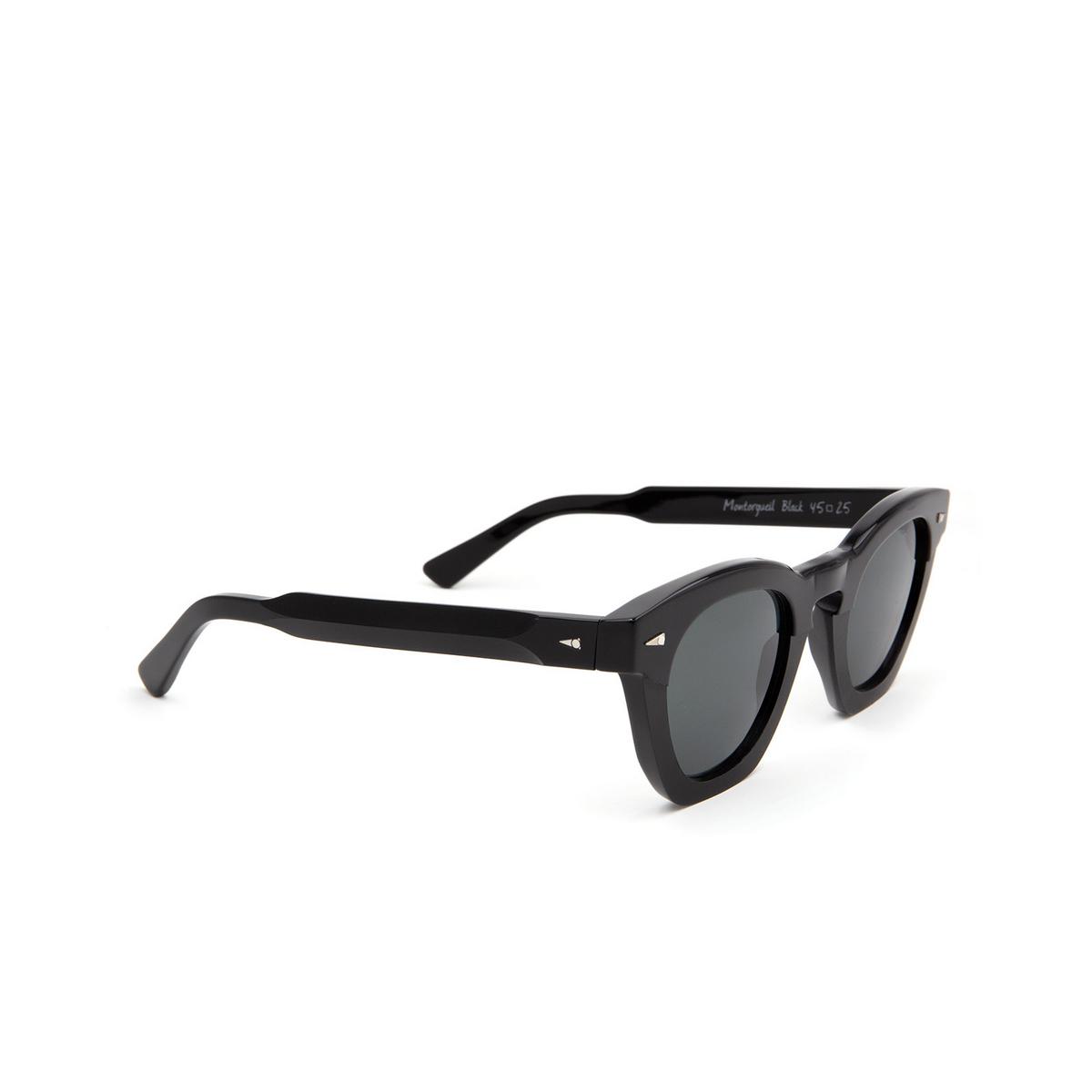 Ahlem® Square Sunglasses: Montorgueil color Black.