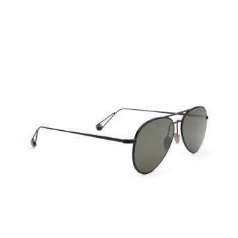 Ahlem® Aviator Sunglasses: Pantheon color Black.