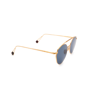 Ahlem® Irregular Sunglasses: Place Carree color Rose Gold.