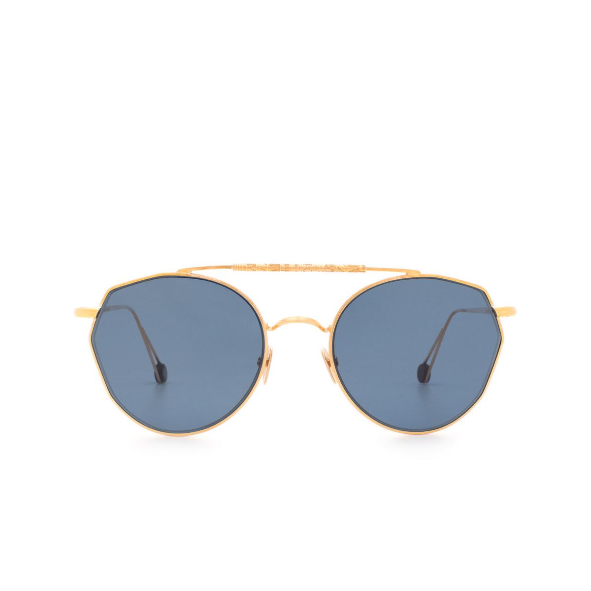 Ahlem® Irregular Sunglasses: Place Carree color Rose Gold.