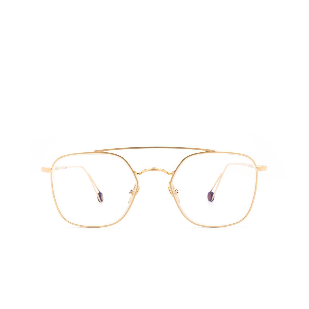 Ahlem® Square Eyeglasses: Place Colette Optic color Champagne.