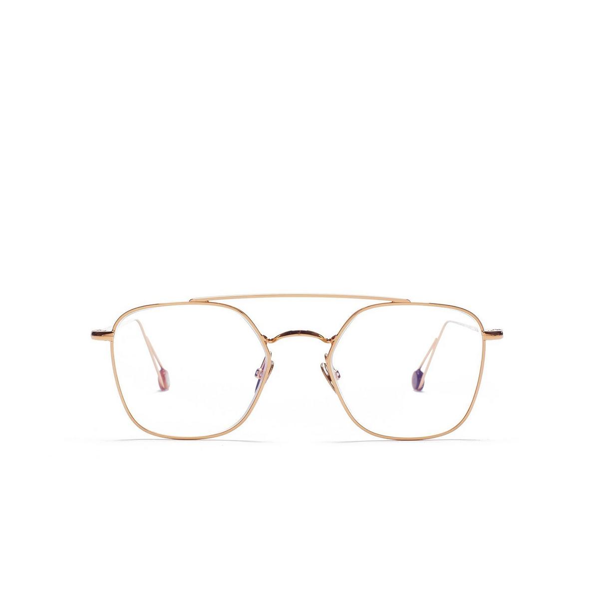Ahlem® Square Eyeglasses: Place Colette Optic color Peony Gold.