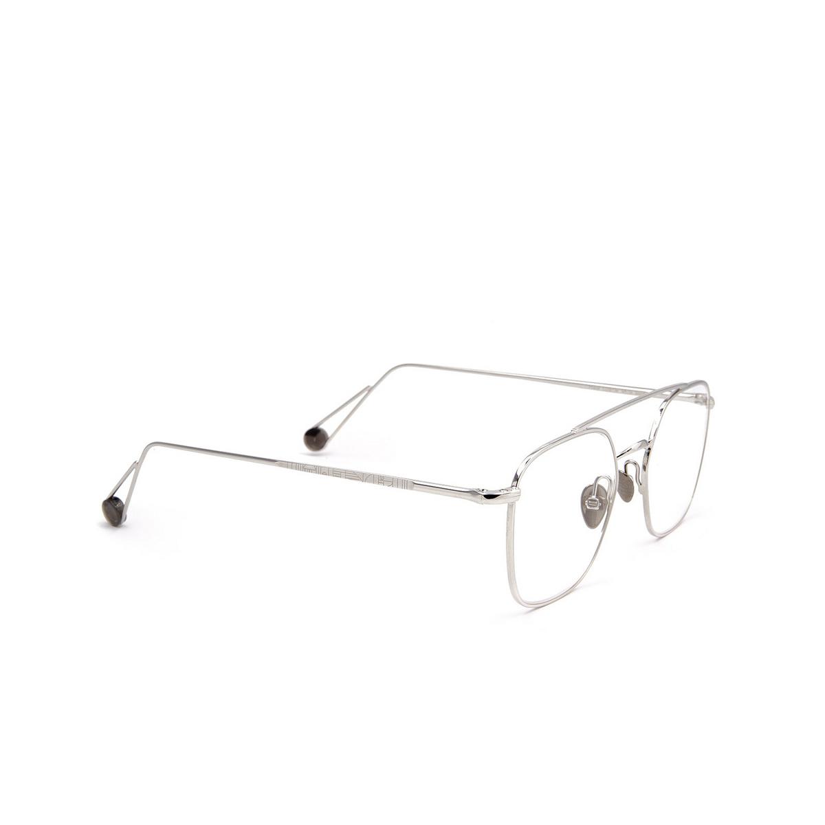 Ahlem® Square Eyeglasses: Place Colette Optic color White Gold.