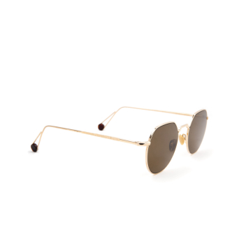 Ahlem® Irregular Sunglasses: Place Dauphine color Champagne.