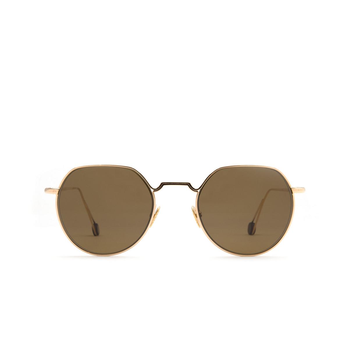 Ahlem® Irregular Sunglasses: Place Dauphine color Champagne.
