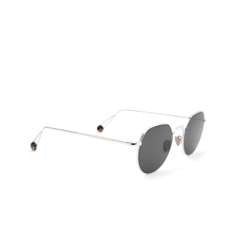 Ahlem® Irregular Sunglasses: Place Dauphine color White Gold.