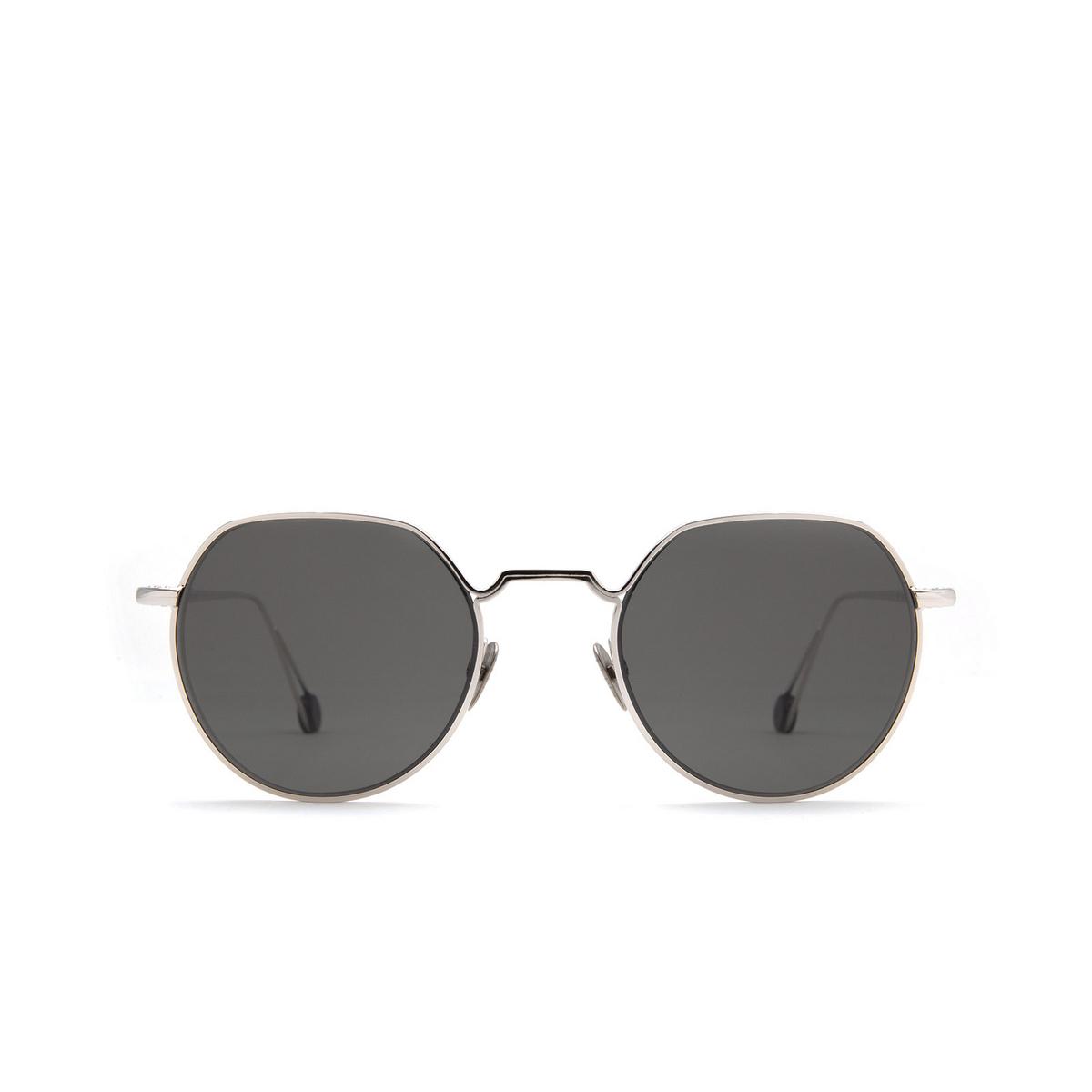 Ahlem® Irregular Sunglasses: Place Dauphine color White Gold.