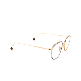 Ahlem® Square Eyeglasses: Place De L'ecole Militaire color Champagne.