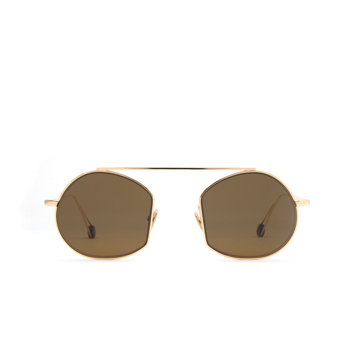 Ahlem® Irregular Sunglasses: Place Des Victoires color Champagne.