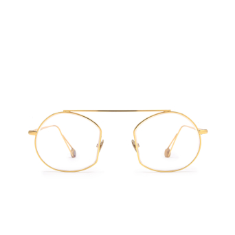 Ahlem® Irregular Eyeglasses: Place Des Victoires Optic color Peony Gold.