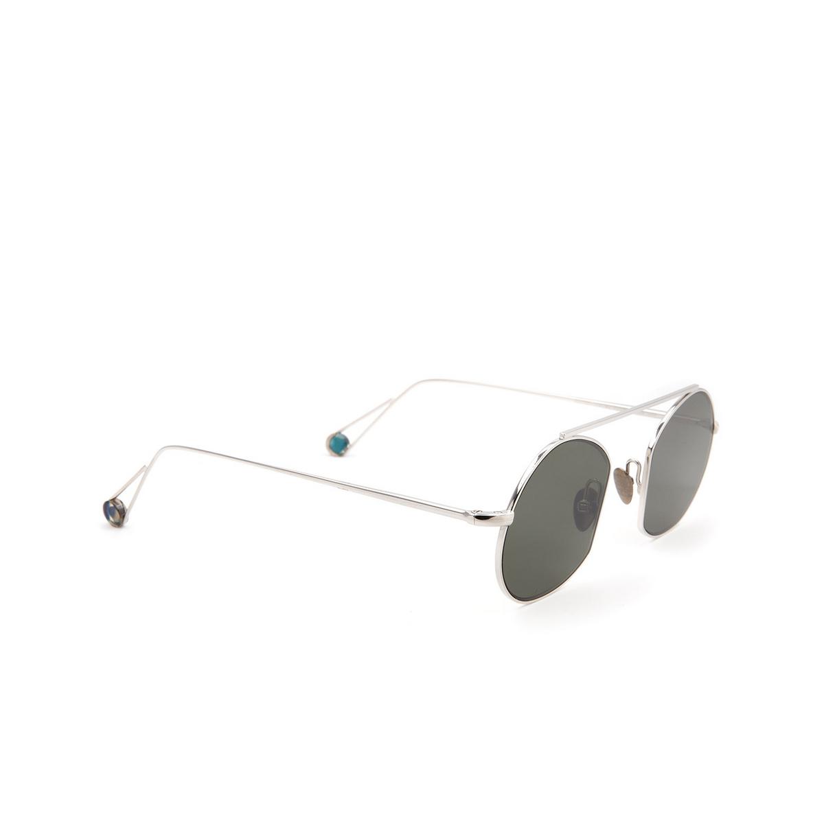 Ahlem® Irregular Sunglasses: Place Des Victoires color White Gold.