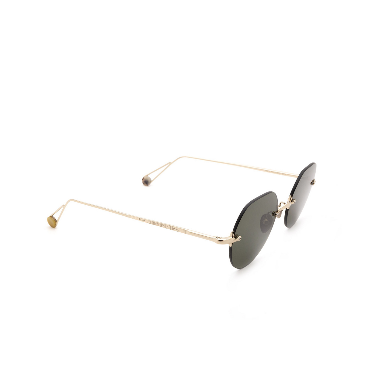 Ahlem® Irregular Sunglasses: Place Rodin color Grey Gold.