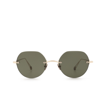 Ahlem® Irregular Sunglasses: Place Rodin color Grey Gold.