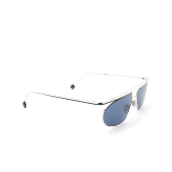 Ahlem® Irregular Sunglasses: Place Tokyo color White Gold/blue.