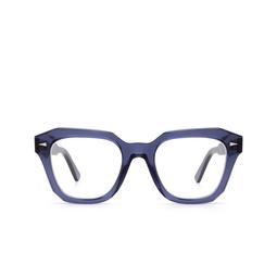 Ahlem® Eyeglasses: PONT DES ARTS OPTIC RAW 8MM color Blue Indigolight.