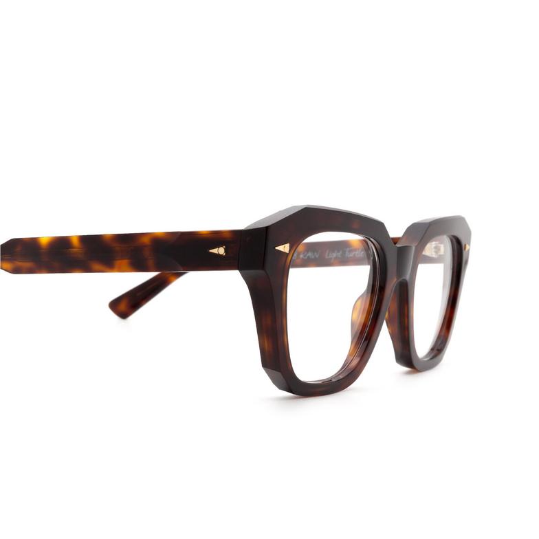 Ahlem® Square Eyeglasses: PONT DES ARTS OPTIC RAW 8MM color Light Turtle.