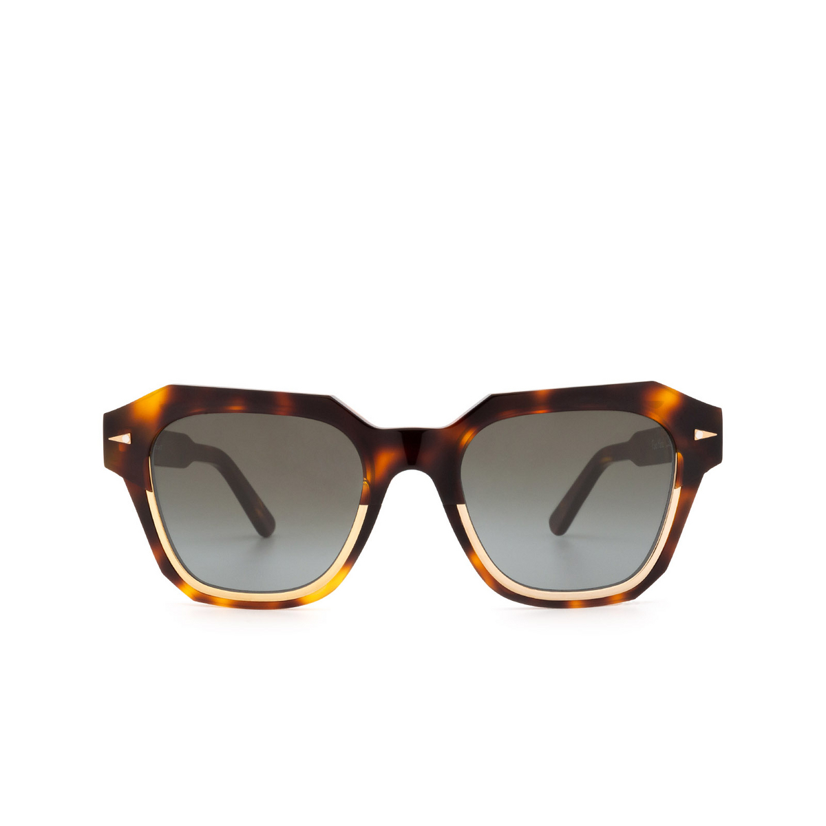 Ahlem® Square Sunglasses: Pont Marie color Classic Turtle.