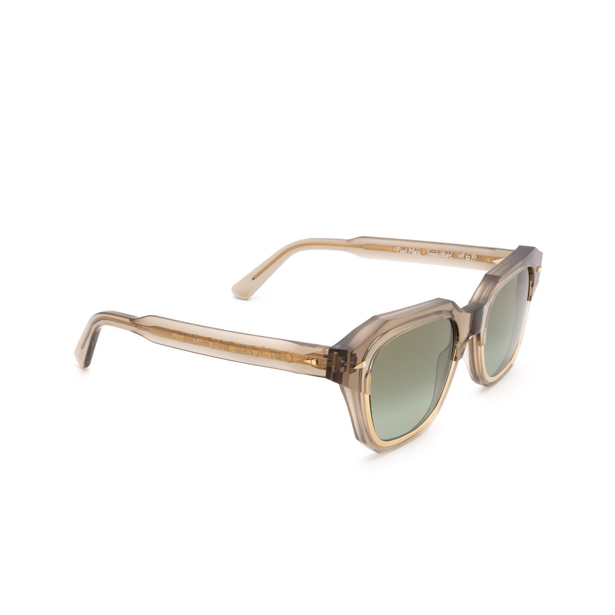 Ahlem® Square Sunglasses: Pont Marie color Smoked Light.