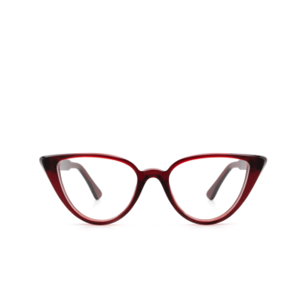 Ahlem® Cat-eye Eyeglasses: Rue Berthe color Burgundy.