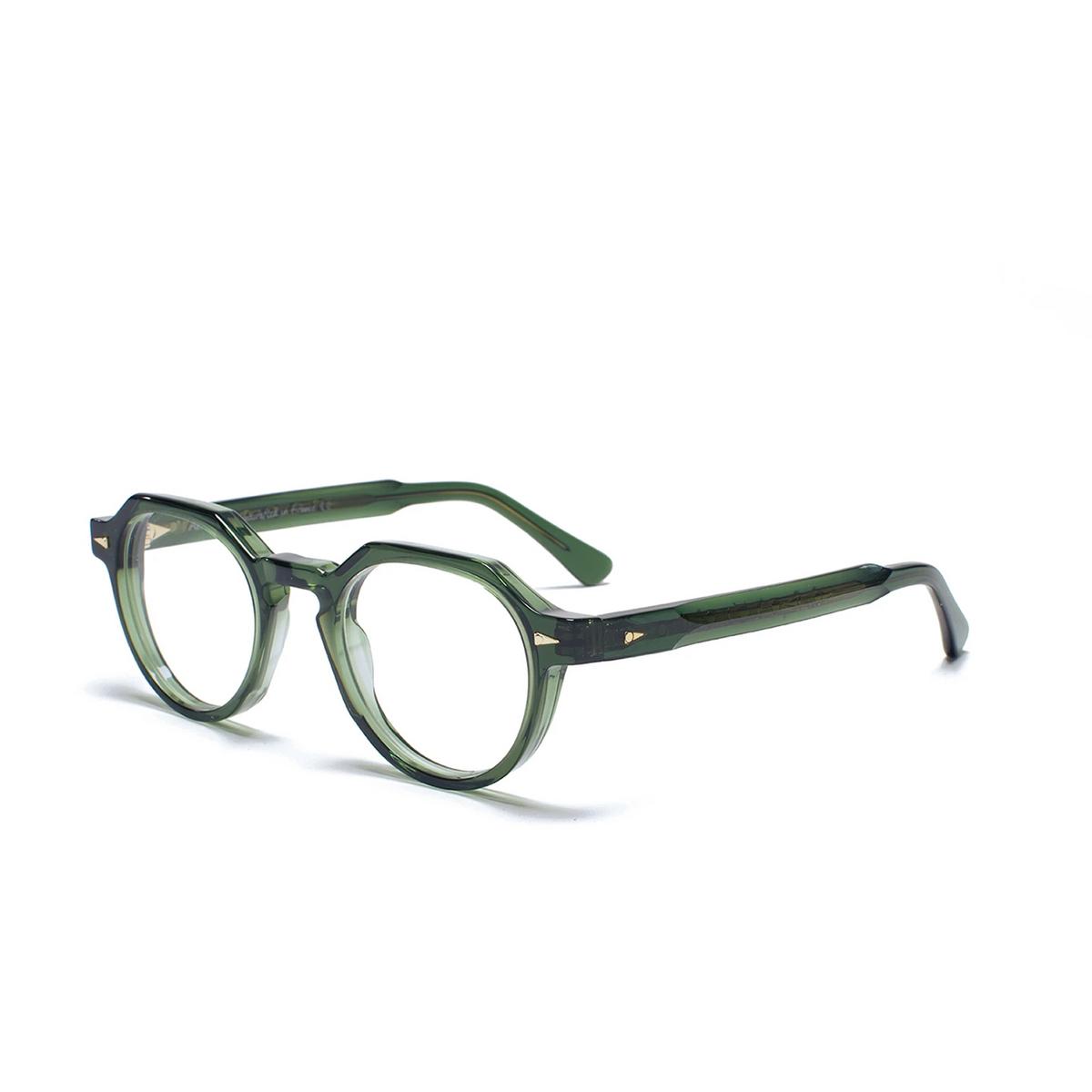 Ahlem® Irregular Eyeglasses: Rue Bosquet color Dark Green.