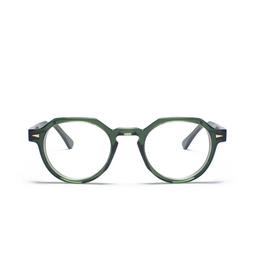 Ahlem® Eyeglasses: Rue Bosquet color Dark Green.
