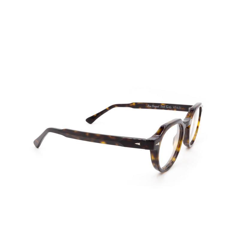 Ahlem® Irregular Eyeglasses: Rue Bosquet color Dark Turtle.