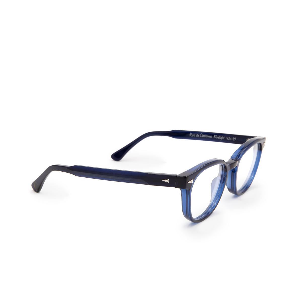 Ahlem® Square Eyeglasses: Rue De Charonne color Bluelight.
