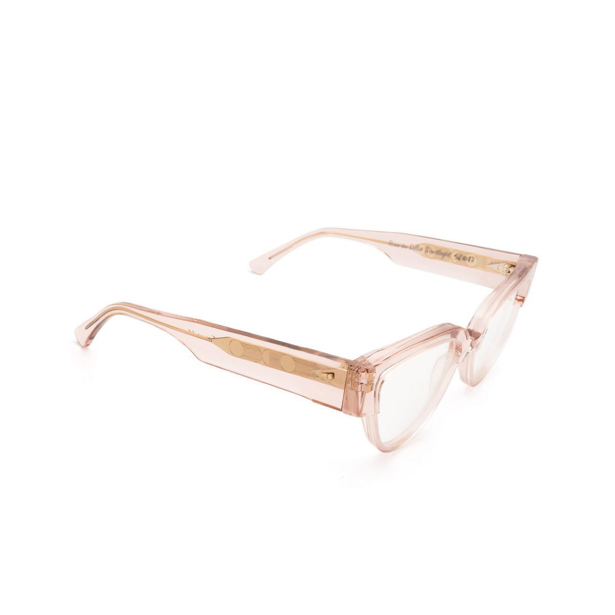 Ahlem® Butterfly Eyeglasses: Rue De Sofia Optic color Dustlight.