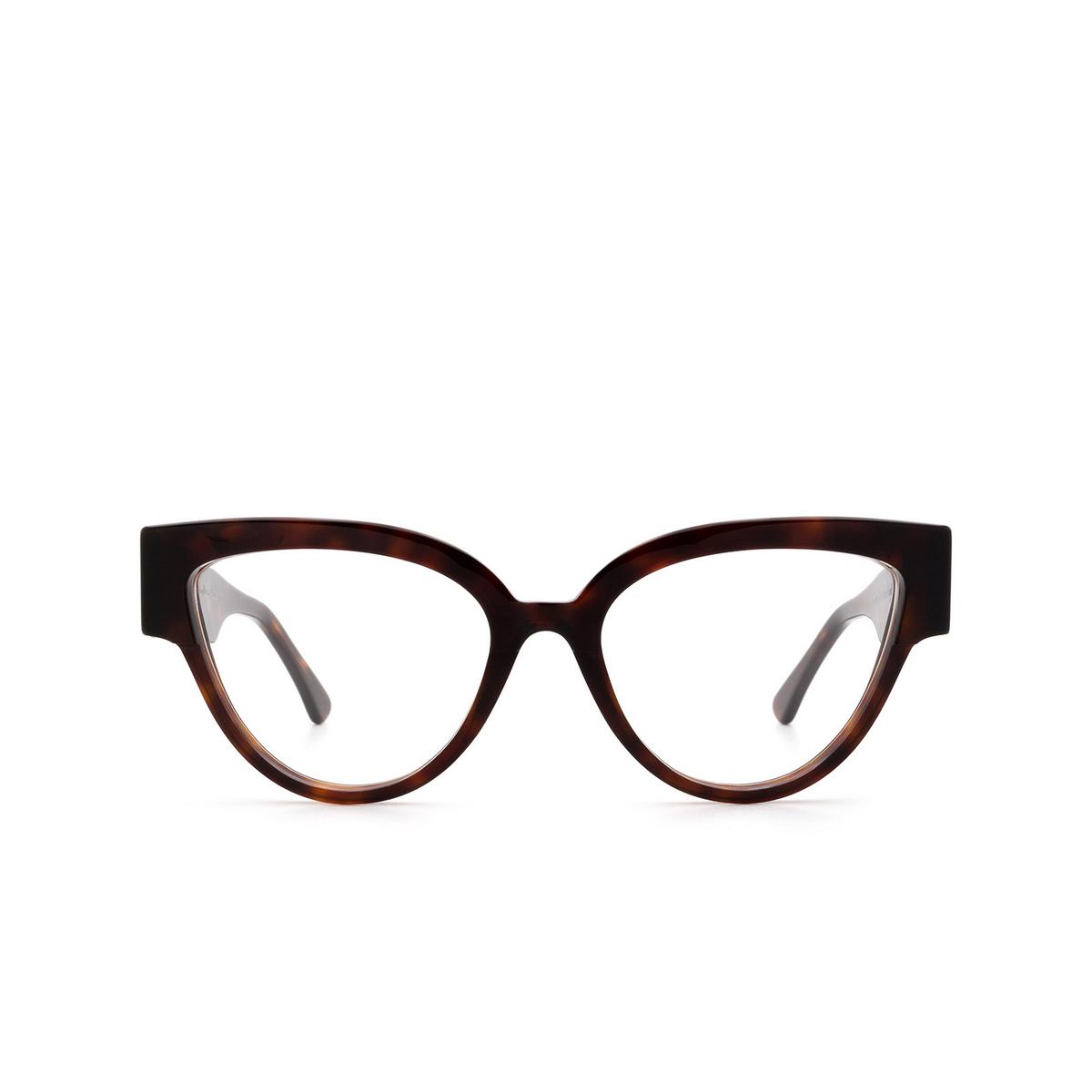 Ahlem® Butterfly Eyeglasses: Rue De Sofia Optic color Light Turtle.