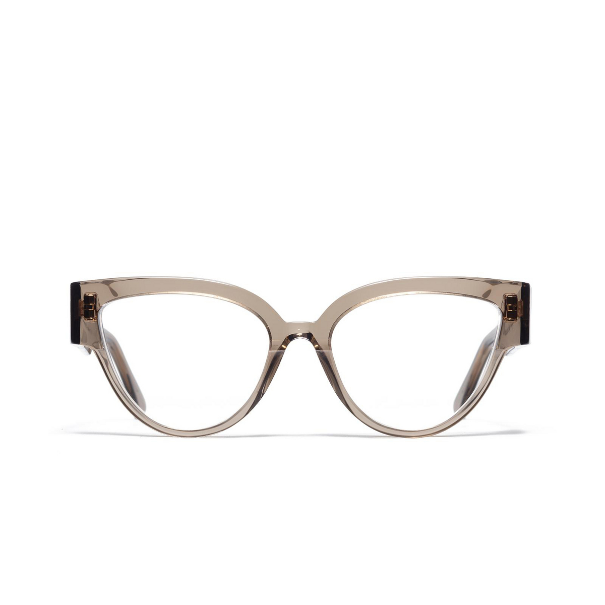 Ahlem® Butterfly Eyeglasses: Rue De Sofia Optic color Smokedlight.