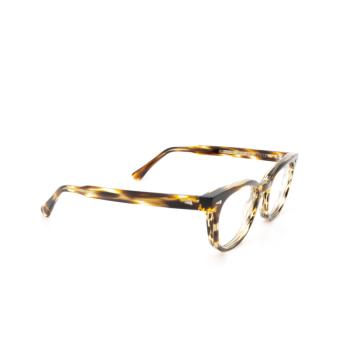 Ahlem® Square Eyeglasses: Rue Duroc color Yellow Lines.