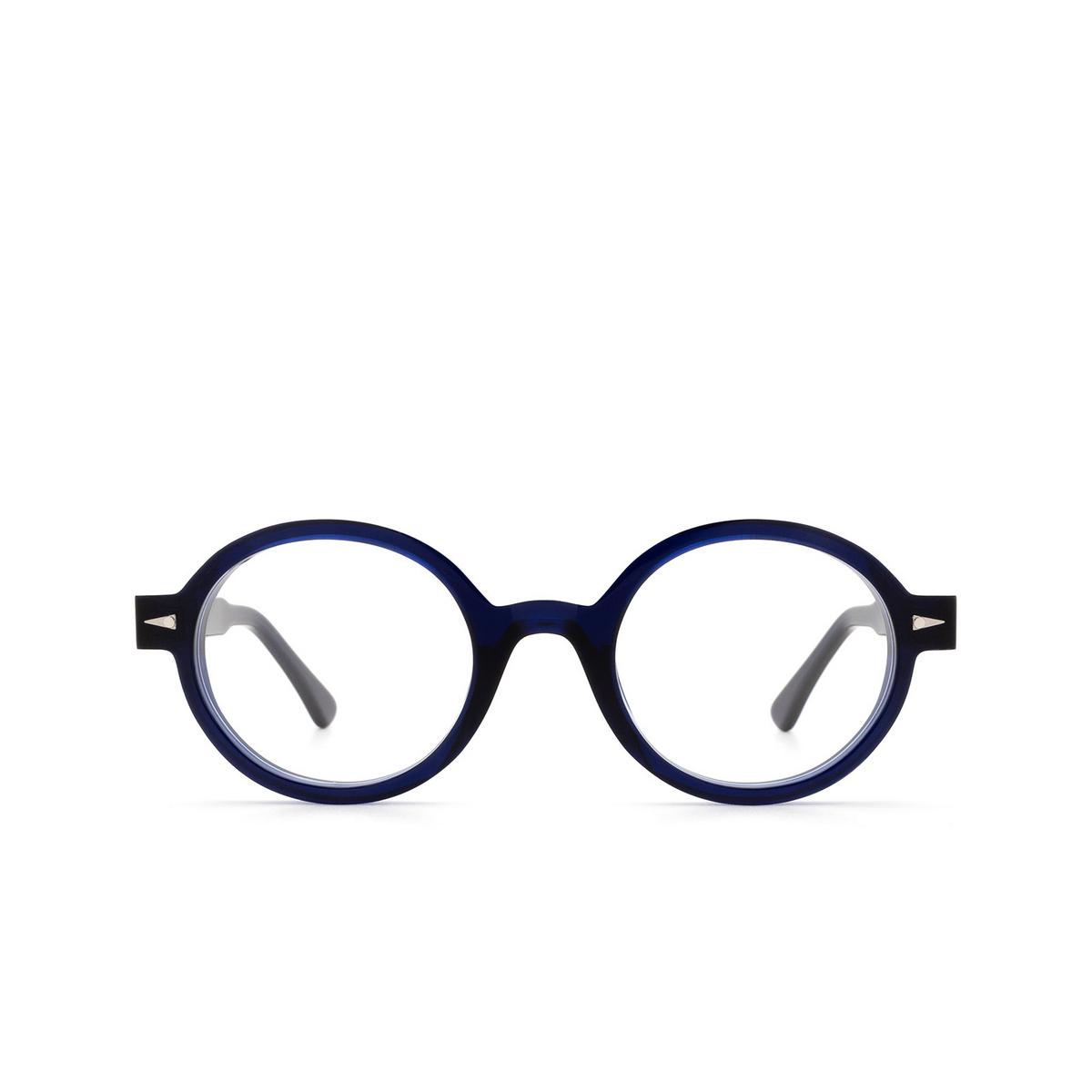 Ahlem® Round Eyeglasses: Rue Leon Optic color Bluelight.