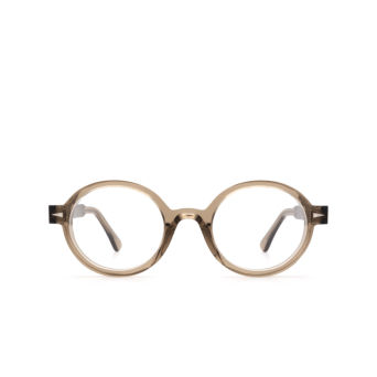 Ahlem® Round Eyeglasses: Rue Leon Optic color Smoked Light.