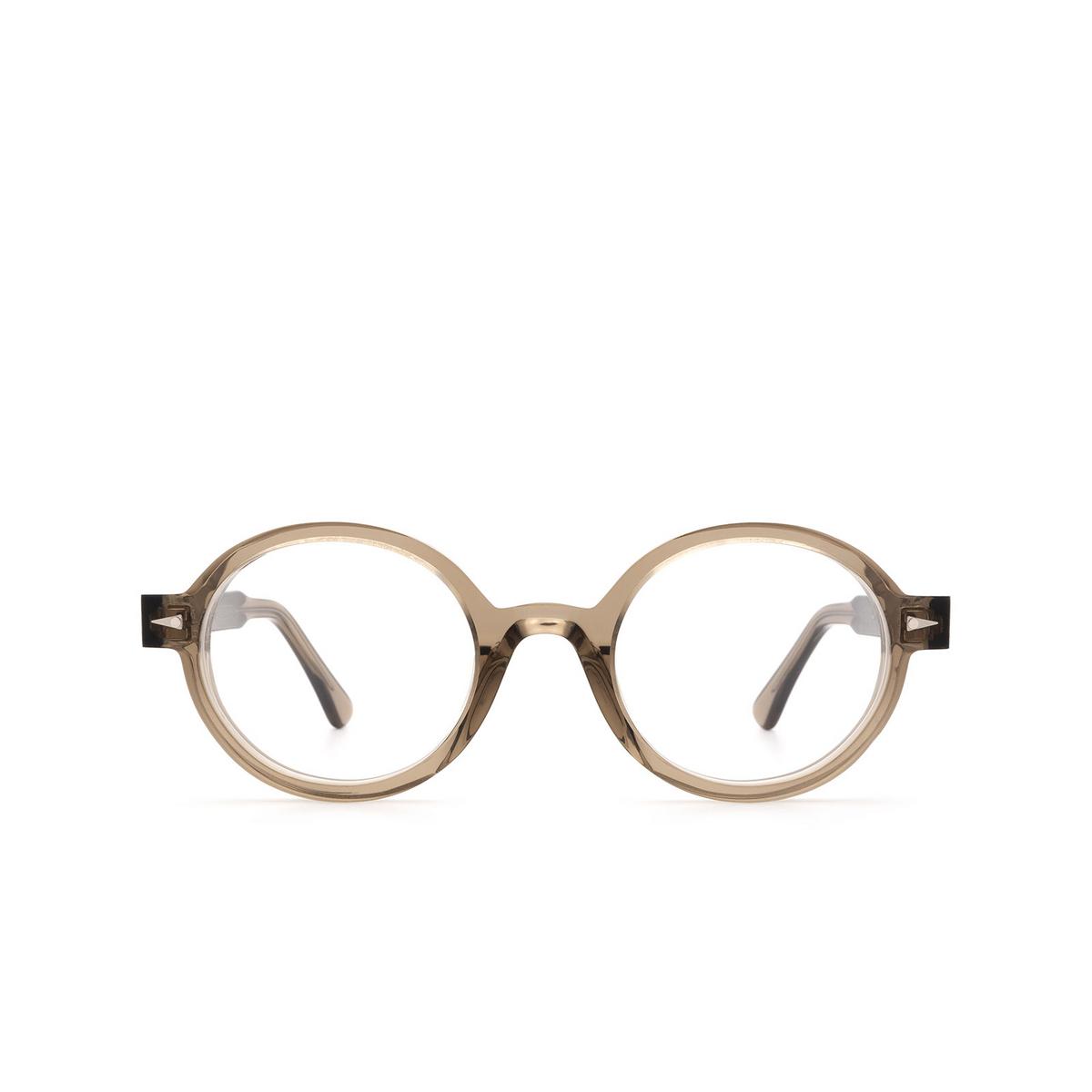 Ahlem® Round Eyeglasses: Rue Leon Optic color Smoked Light.