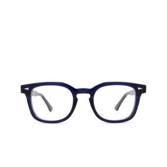Ahlem® Square Eyeglasses: Rue Servan Optic color Bluelight.