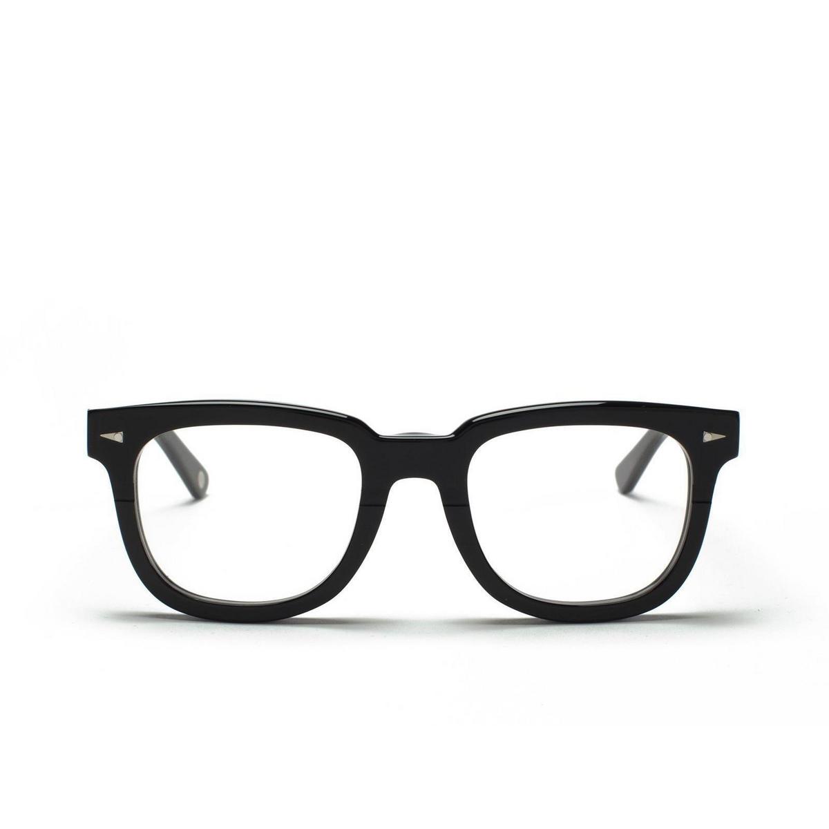 Ahlem® Square Eyeglasses: Square Du Temple Optic color Black.