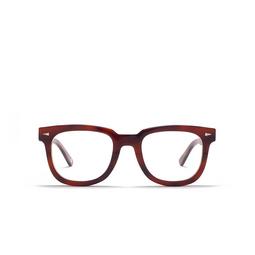 Ahlem® Eyeglasses: Square Du Temple Optic color Brown Turtle.