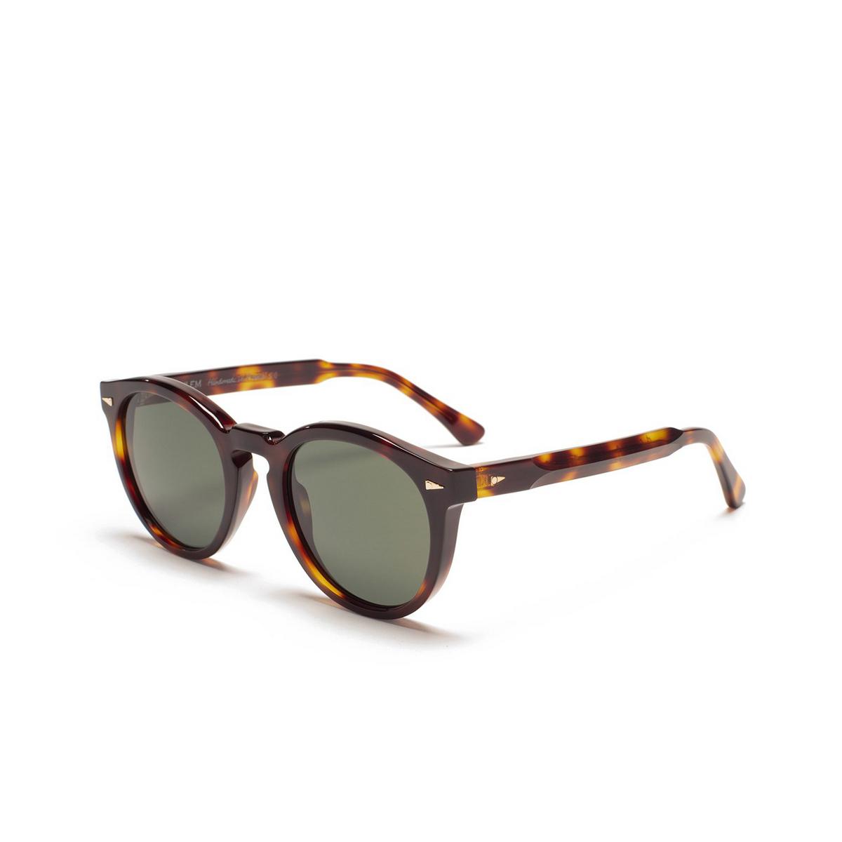 Ahlem® Round Sunglasses: St Germain color Classic Turtle.