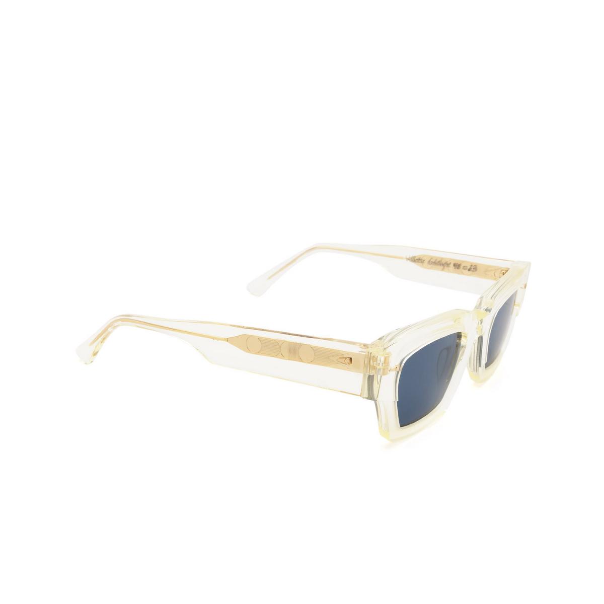 Ahlem® Square Sunglasses: Villette color Gold Light.
