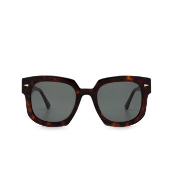 Ahlem® Square Sunglasses: Vivienne color Light Turtle.