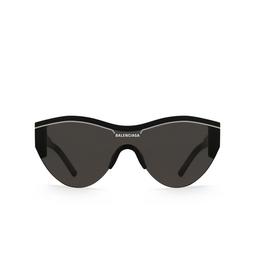 Balenciaga® Mask Sunglasses: BB0004S color Black 001.