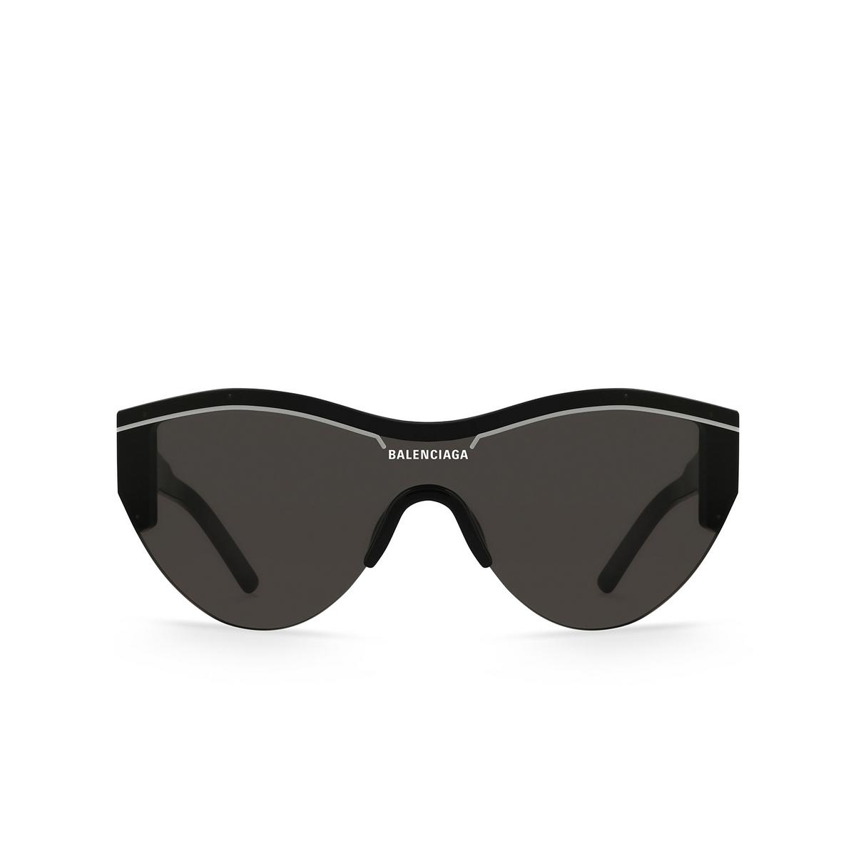 Balenciaga® Mask Sunglasses: BB0004S color Black 001 - front view.