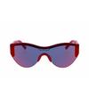 Balenciaga® Mask Sunglasses: BB0004S color Red 003 - product thumbnail 1/2.
