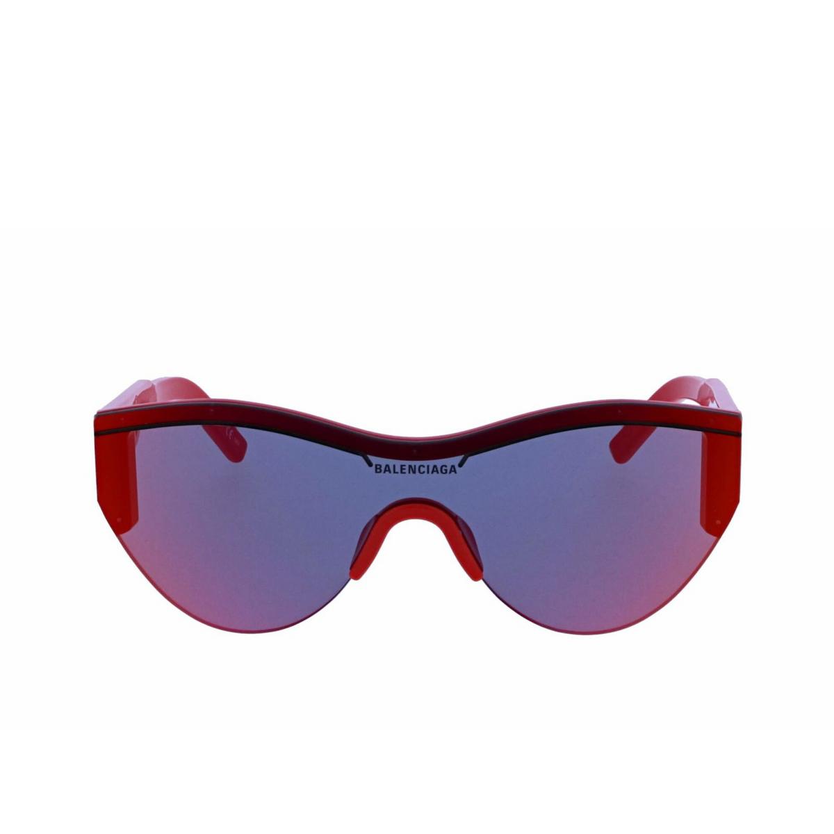 Balenciaga® Mask Sunglasses: BB0004S color Red 003 - 1/2.