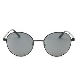 Balenciaga® Round Sunglasses: BB0009SK color Black 001.