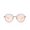 Balenciaga® Round Sunglasses: BB0009SK color Grey 003 - product thumbnail 1/3.
