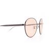 Balenciaga® Round Sunglasses: BB0009SK color Grey 003 - product thumbnail 3/3.
