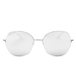 Balenciaga® Sunglasses: BB0014S color Silver 002.