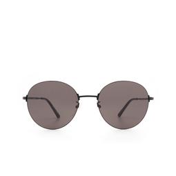 Balenciaga® Round Sunglasses: BB0016SK color Black 001.
